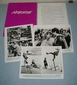 1993 AIRBORNE PRESS KIT 3 PHOTOS CHRIS EDWARDS SHANE McDERMOTT SKATEBOARDING