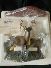 Danbury Mint 'Fall Retreat' By Bob Travers.White-Tailed Deer