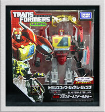 Takara Tomy Transformers Generations FOC TG-17 Blaster & Steeljaw TG17 in USA!!