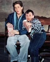 """JERRY MATHERS AND TONY DOW IN """"LEAVE IT TO BEAVER"""" 8X10 PUBLICITY PHOTO (FB-379)"""