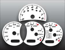 2000-2004 Porsche Boxster 986 Dash Instrument Cluster White Face Gauges