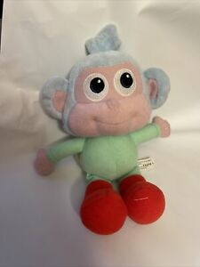 """Fisher Price Dora The Explorer Boots The Monkey Plush 8"""" From 2009 Mattel"""