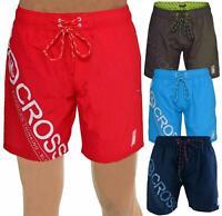 Crosshatch Mens Pacific Swim Shorts Designer Mesh Lined Beach Swimming Trunks