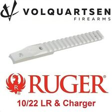 VOLQUARTSEN Silver Ruger 10-22 Picatinny Rail Scope Mount for 920 Barrel Mounted