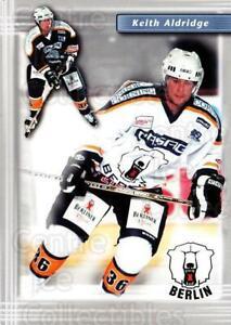 2001-02 German Berlin Polar Bears Postcards #1 Keith Aldridge