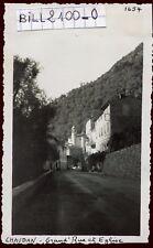 Chaudan . Bonson . Alpes-Maritimes .Grand'Rue . photo ancienne . septembre 1946