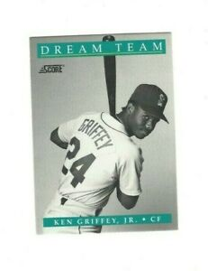 1991 Score Dream Team KEN GRIFFEY JR. #892 Limited 12 of 13 Seattle Mariners EX