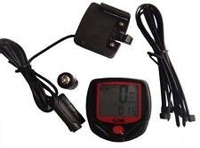 Cycling Bike Bicycle Cycle Computer Odometer Speedometer Waterproof Accessories