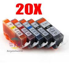20x Ink PGI 525BK CLI 526 Ink for Canon Pixma MG5150 MG6150 MG5350 Cartridge OZ