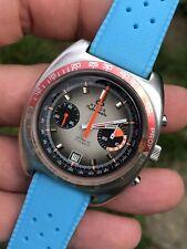 In vendita! VINTAGE Athos profondimetro cronografo Orologio da uomo VAL. 7734 42,3mm in acciaio