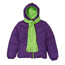 Plum & Lime Scarf Jacket - Girl  - 4T 5/6 - Pacific Trail