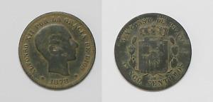 Alfonso XII 5 Centimosde 1878 Om Barcelona, Victorian Era Spain