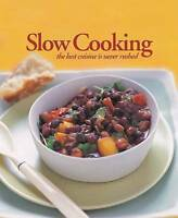 Slow Cooking, , Very Good Book