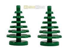 2x LEGO® 2435 kleiner Tannenbaum Nadel-Baum grün 2x2x4 NEU tree