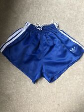 Adidas Nylon Sprinter Shorts Glanz Vintage Football Swim Retro Gym Running
