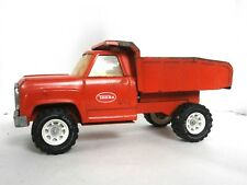 Vintage 1970's Orange TONKA Dump Truck Collectible Pressed Steel Toy Tonka Truck