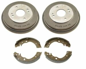Brembo Rear Drums and Shoes Brake Kit for Honda Accord LX DX SE 2.2 2.3L L4