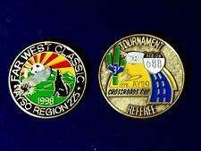 Soccer Referee Flip Coin AYSO Tournament Crossroads, Far West Classic