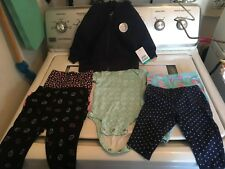 INFANT GIRTLS 0-3 MONTH LOT NWT/NWOT CARTERS, H.D., CHILD OF MINE  PLEASE READ