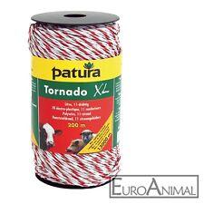 Patura Tornado XL Litze 200 m Weidezaunlitze für Weidezaun bis 13000 m
