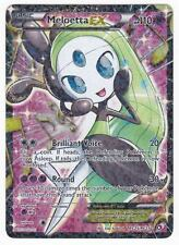 POKEMON • Meloetta EX RC25/RC25 FULL ART CARTA RARA RADIANT LEGENDARY TREASURES