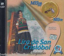 Lira De San Cristobal CD NEW 40 Temas Originales Lo Mejor De Lo Mejor SEALED