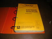 Manuale D'Officina Elettrica Citroen Saxo 1997 - 1999