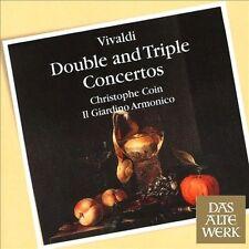 Vivaldi: Double and Triple Concertos (CD, Oct-2013, Das Alte Werk)