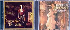 Nutcracker Suite & Handels Messiah 1 each NEW Cello Wrapped CDs by Northsound
