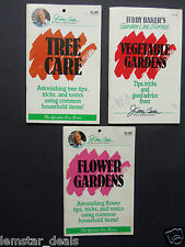 Lot of 3 Jerry Baker Booklets on Flowers Vegetables Trees care Amazing Tips