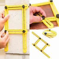 Measuring Instrument Multi-Angle Ruler Template Tool Four-Sided Rulers Mechanism
