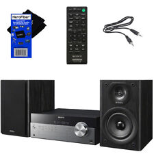 Sony Micro Music Stereo System w/NFC, Bluetooth, USB, CD & AM/FM + Aux Cable