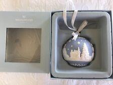Wedgwood Blue Jasperware Christmas Ornament