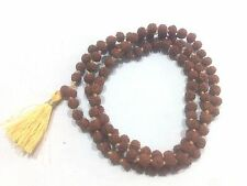 5 M.M. SMALLEST Very small and rare Rudraksha mala of 108+1 Hindu prayer beads