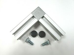 """2 Way Cubic Connector for 2020 Aluminium Extrusion/Profile for """"B"""" Type Slot 6"""