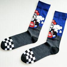1 pair Nintendo Super Mario Bros Crew Tube Socks Boyfriend Cartoon Cotton Socks