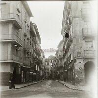 España Ayuntamiento A Identificar Foto Estéreo PL58L26n Placa Cristal Vintage