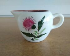 Stangl pottery Thistle little pitcher/ creamer hand painted Trenton NJ