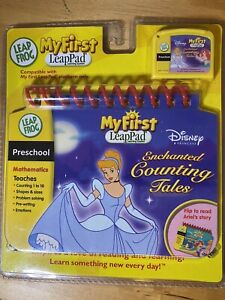 My First LeapPad Disney Princess Enchanted Counting Tales Factory Sealed Mint