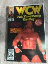 WCW 1 2 3 4 5 6 7 8 9 10 LEX LUGER MARVEL HIGHER GRADE WRESTLING COMICS WWF