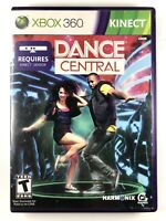 FREE SHIPPING🔥 Dance Central - Xbox 360 Game - Complete w/ Manual CIB Tested