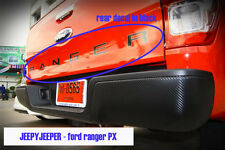 Black Rear Tailgate Decal Sticker FORD RANGER PX WILDTRAK 2012 - 2014