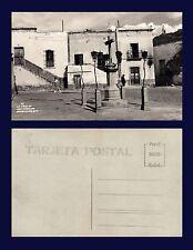 MEXICO GUANAJUATO LA CRUZ DE LOS FAROLES REAL PHOTO 1950'S