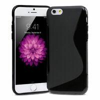 Apple iPhone 6 6S 4.7 TPU Handy Hülle Tasche Schutzhülle Case SilikonCover Black