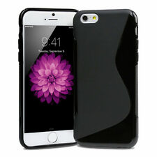 Apple iPhone 6 6S 4.7 TPU Handy Hülle Tasche Schutzhülle Case SilikonCover Black