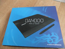 Bamboo Pen & Touch Boxed, with cd and manual, for precision drawing