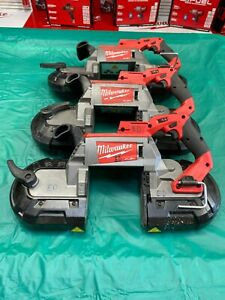 MILWAUKEE 18V FUEL DEEP CUT BANDSAW 125MM X 125MM - M18CBS125 - BODY ONLY