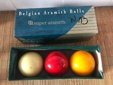 Jeu de boule Billard 61,5 Super Aramith Belgian