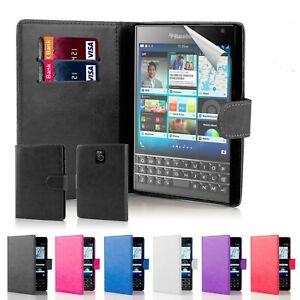 32nd Book Wallet PU Leather Case Blackberry Passport