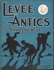 Levee Antics 1907 Sheet Music